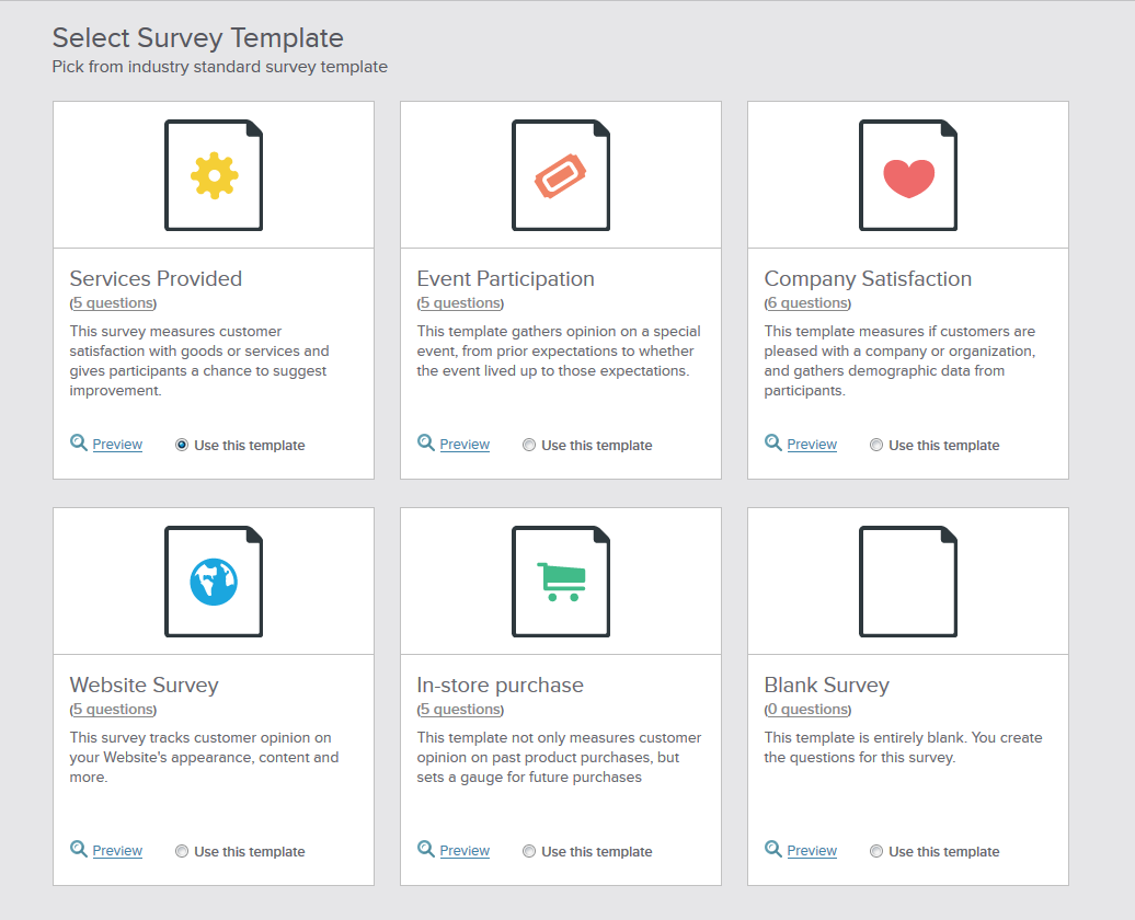 Benchmark_Survey_Templates