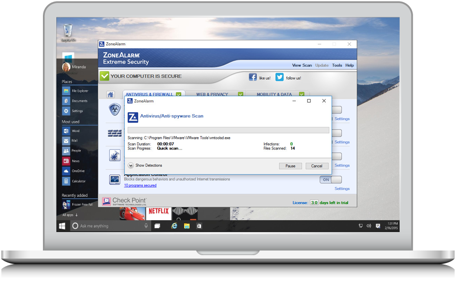 What is the best ZoneAlarm Internet Security Suite 8 software to buy?