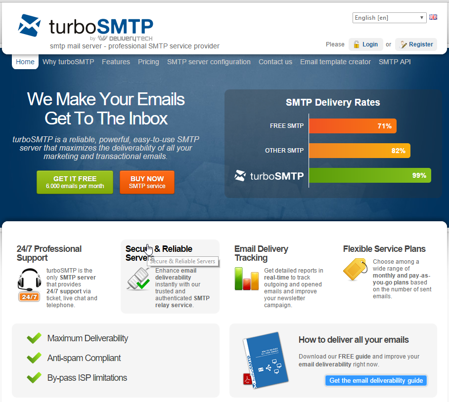 Best 5 Free SMTP Server - Accurate Reviews