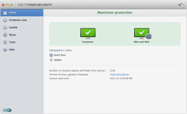 ESET Cyber Security for Mac - Accurate Reviews