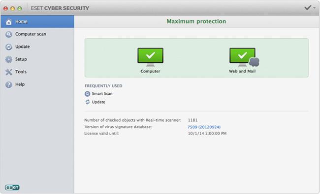 Eset Cyber Security Recensione Antivirus Per Mac