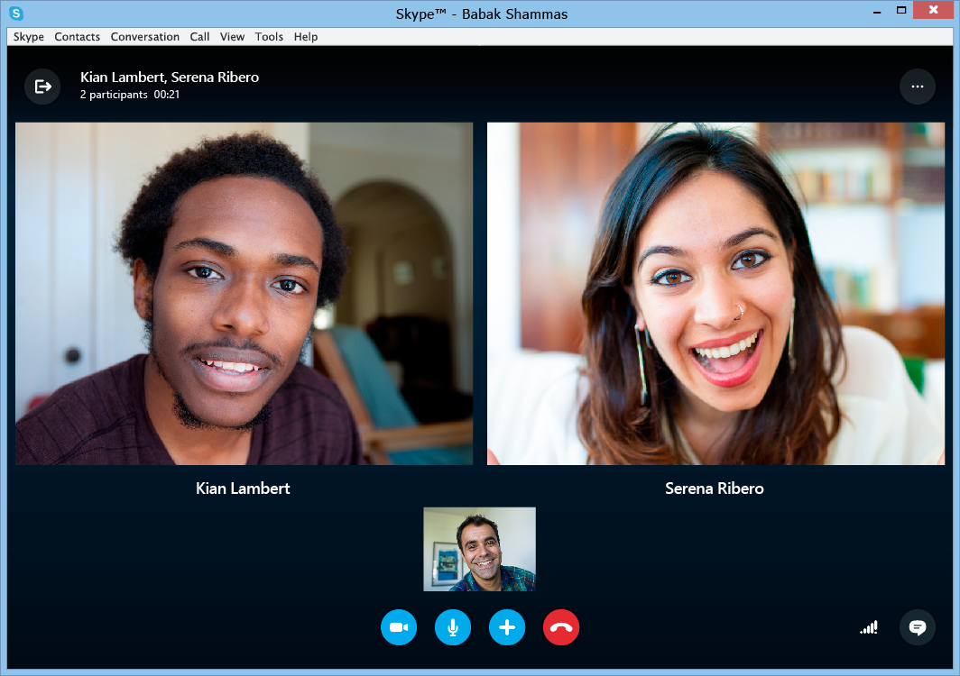 Video calls are one of Skype most used feature.