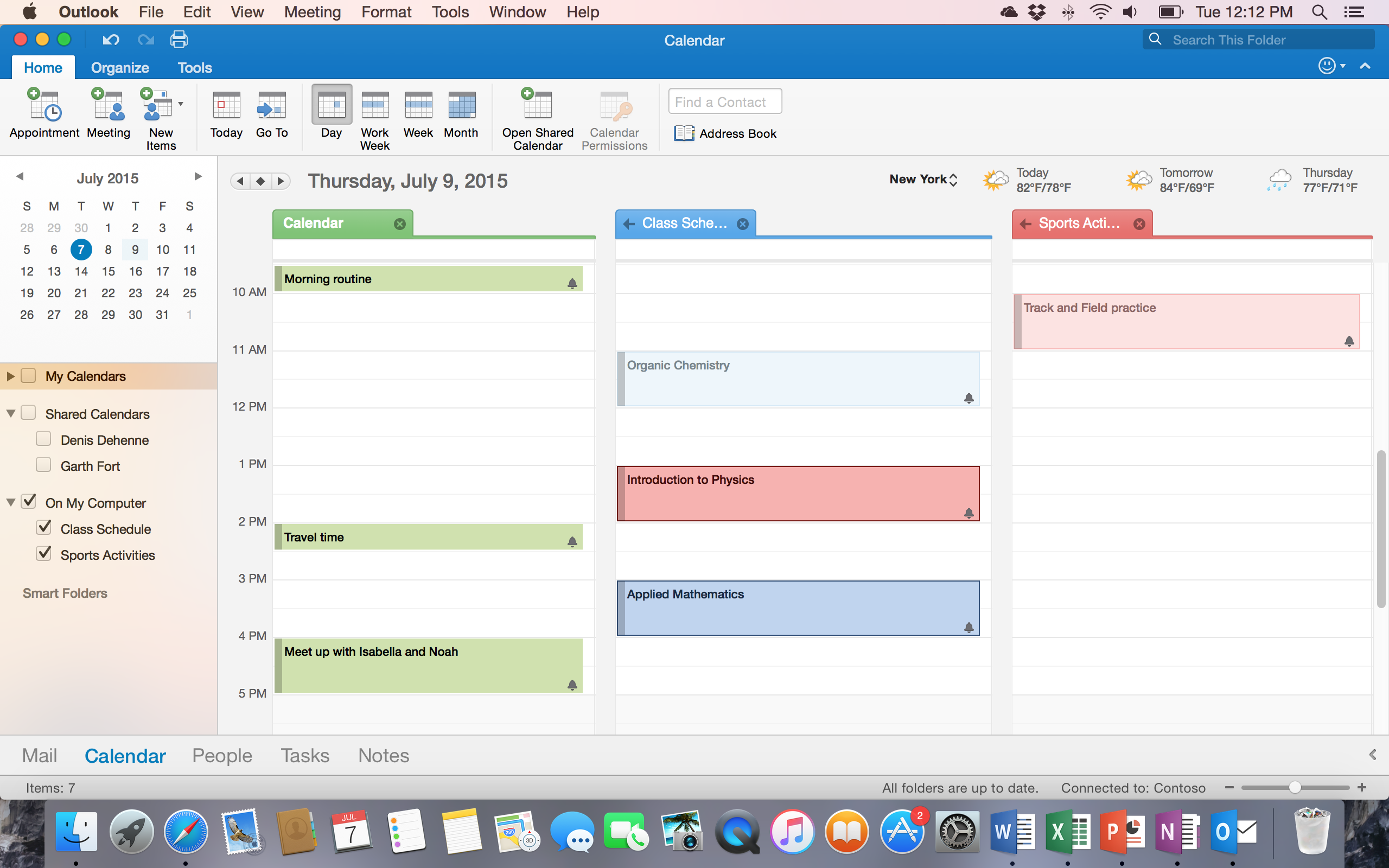 Outlook 2016 For Mac Calendar