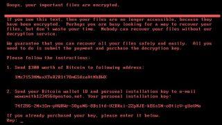 petyawrap ransomware