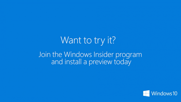 windows insider program not working