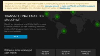 Sulla sua homepage, Mandrill si riferisce direttamente a MailChimp. Ti offriamo le nostre migliori alternative a Mandrill.