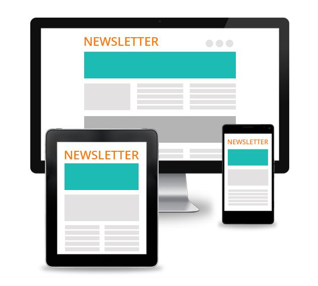 newsletter responsive
