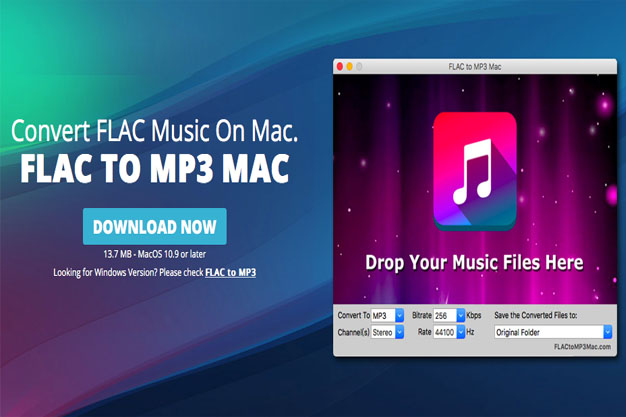 How to convert FLAC audio to MP3 files with FLAC to MP3 Mac
